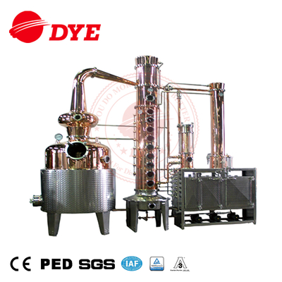 1200L commerical steam heating alcohol distiller