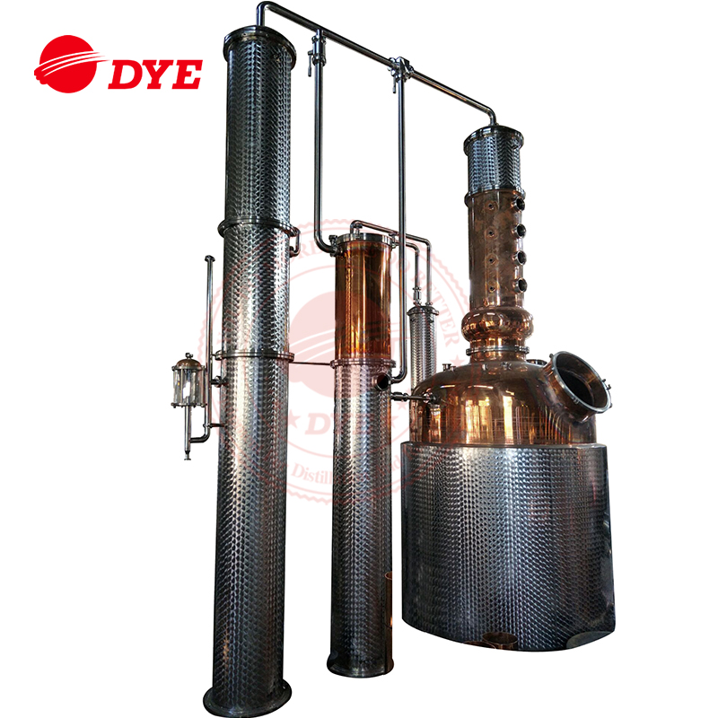 steam vacuum fractional distillation unit