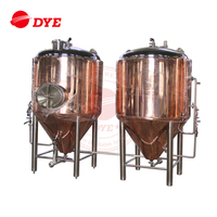 Good price stainless steel copper beer fermentation unitank