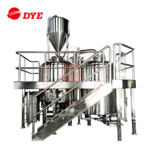 1500L Steam Heating Stainless Steel Brewhouse Equipment /Beer Equipment