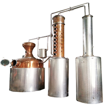 2000L alembic handmade copper still leaf distillation equipment