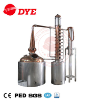 300gallon Copper Alcohol whisky Distillation Equipment