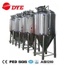 2000liter fermenter unitank beer brewery brewing equipment for factory price