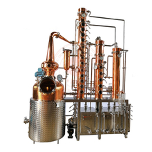 Alcohol Distillery Equipment Spirits Making Machine 300L Copper still