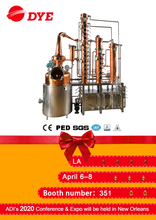 alcohol making machine copper stills brandy distillery equipment for sale