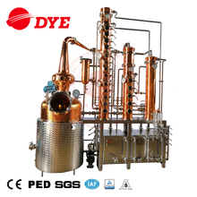 300L Copper Alcohol Distilling Equipment Vodka Towers Distiller