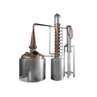 Steam Distillation Machines Column Distiller Whiskey still for Sale