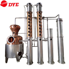 Professional Commercial Copper Vodka Distillery Equipment 1000L
