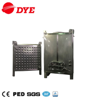 Square stainless steel rectangular 1000 liter ibc tank vessel
