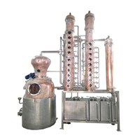 150gallon vodka still copper distillery equipment