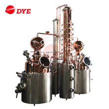 250L Micro Copper Stills Vodka Whisky Distillery Equipment