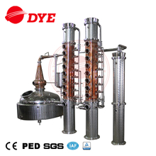 Vodka Gin Still Alcohol Distillery Equipment 1000L